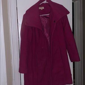Purple Merona Pea Coat